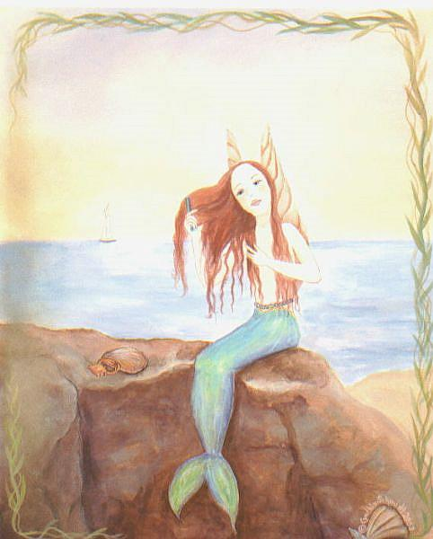 Art: Water Fairy   by Artist Cynthia Schmidt