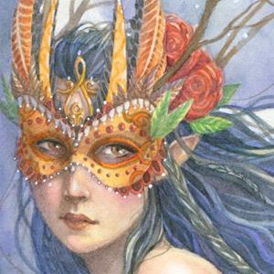 Detail Image for art Midnight Warrior
