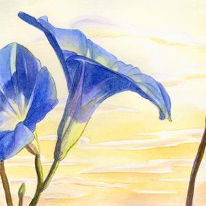 Detail Image for art Morning Glories