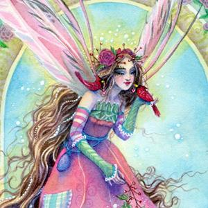 Detail Image for art Cardinal Fairy