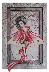 Art: Red Riding Hood by Artist Saskia Franken-Saers