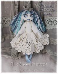 Art: The Snow Princess by Artist Jo Hards