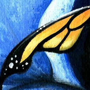 Detail Image for art Heart Of The Blue Iris