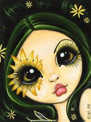 Art: Black-Eyed Susan by Artist Elaina Wagner