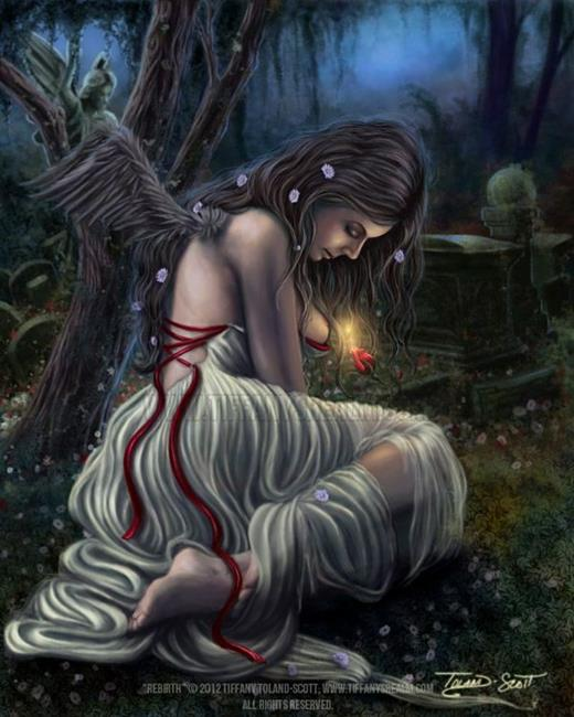 Art: Rebirth by Artist Tiffany Toland-Scott