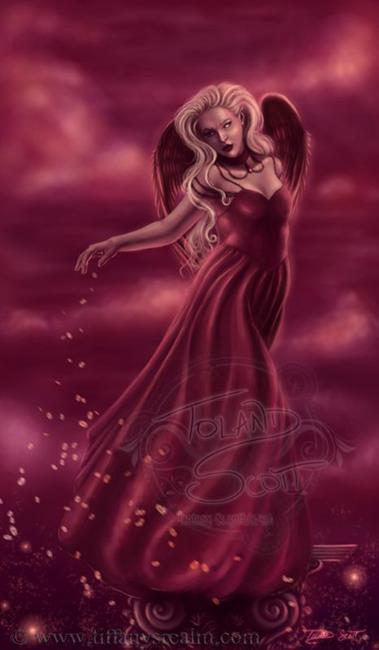 Art: Princess of Hearts by Artist Tiffany Toland-Scott