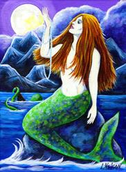 Art: The Mermaid's Pearls by Artist Lisa M. Nelson