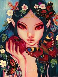 Art: Forbidden Fruit by Artist Natasha Wescoat