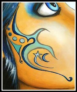 Detail Image for art Blue Moon Goddess