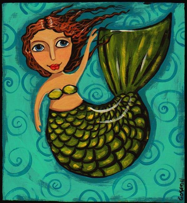 Art: Sea Ginger by Artist Cindy Bontempo (GOSHRIN)