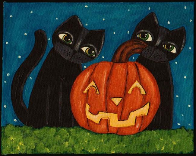 Art: Spooky by Artist Cindy Bontempo (GOSHRIN)