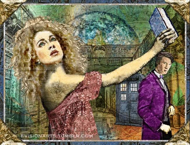 Art: Doctor Who: Luna University by Artist Mary Ogle