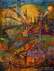 Art: Dragon by Artist Mary Ogle