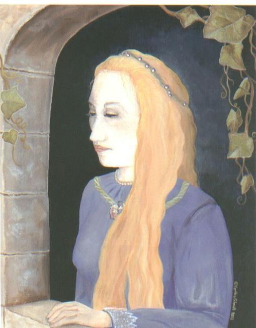 Art: Rapunzel   by Artist Cynthia Schmidt