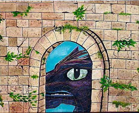 Art: Dragon Watch by Artist Dia Spriggs