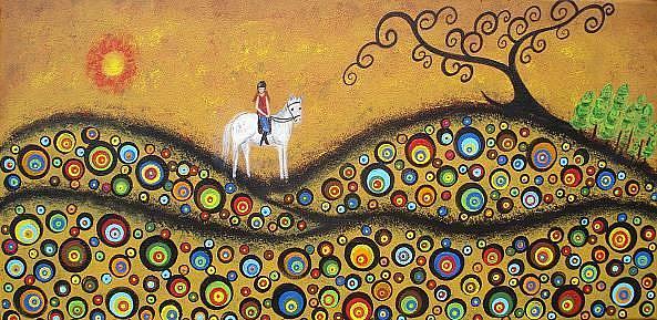 Art: The Magical Ride by Artist Juli Cady Ryan