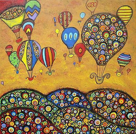 Art: Dreams In Flight by Artist Juli Cady Ryan