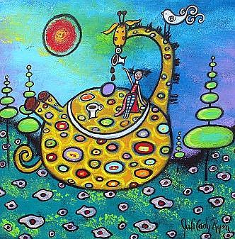 Art: Tea Time by Artist Juli Cady Ryan