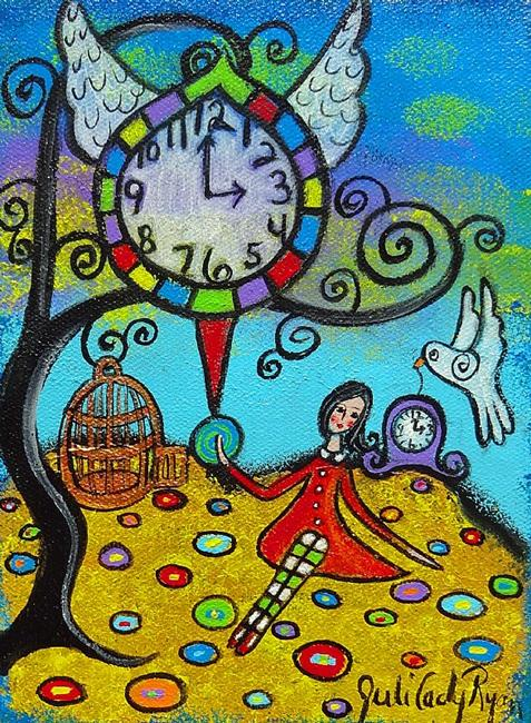 Art: Time Does Fly II by Artist Juli Cady Ryan