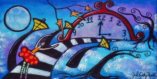 Art: The Pull Of Time by Artist Juli Cady Ryan