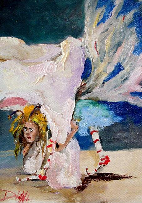 Art: Tooth Fairy Inspection by Artist Delilah Smith
