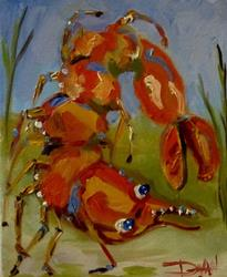 Art: Saucy Shrimp by Artist Delilah Smith
