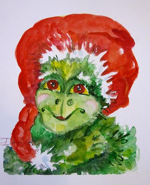 Art: Old Grinch by Artist Delilah Smith