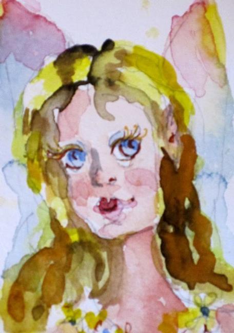Art: Little Fairy by Artist Delilah Smith