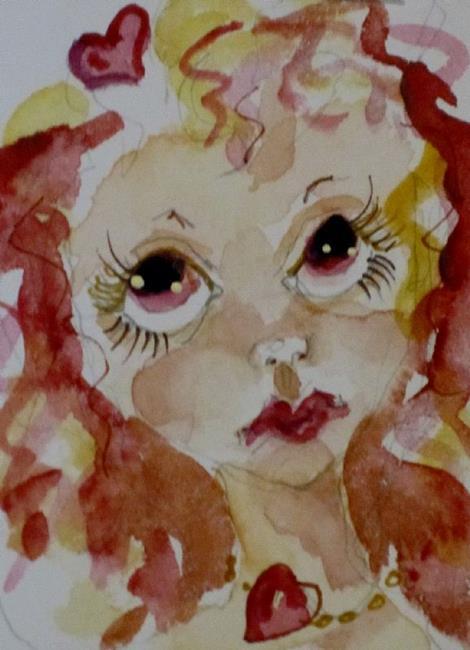 Art: Valentine Fairy No. 2 by Artist Delilah Smith