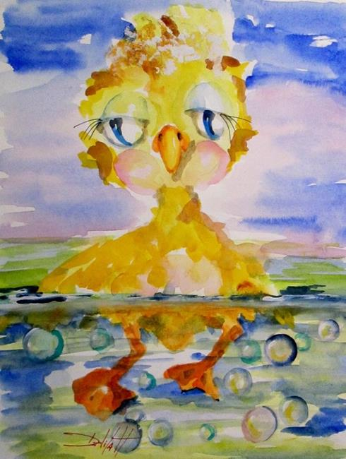 Art: Little Ducky Duddle by Artist Delilah Smith