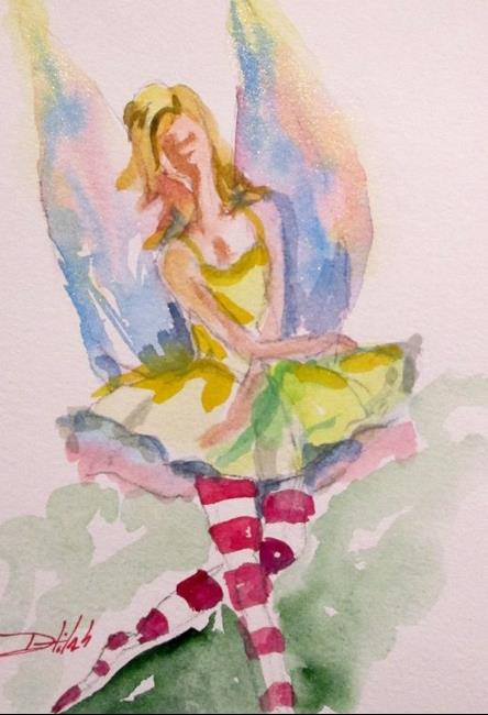 Art: Summer Fairy-sold by Artist Delilah Smith