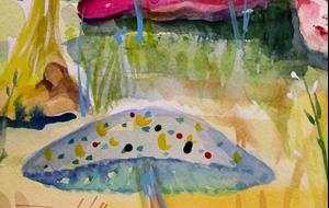 Detail Image for art Sleeping Baby Snail