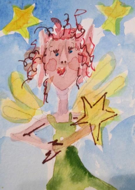 Art: Star Fairy by Artist Delilah Smith