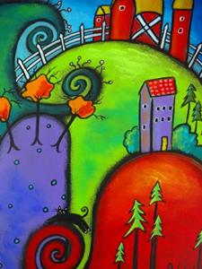 Detail Image for art The Enchanted Countryside