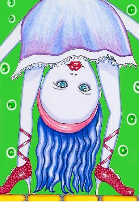 Art: WOW!! by Artist Sherry Key