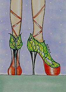 Art: Fairy Ga Ga's by Artist Sherry Key
