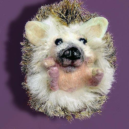 Art: Hedgehog  front rev lr.jpg by Artist Alma Lee