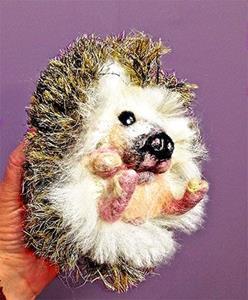 Detail Image for art Hedgehog  front rev lr.jpg