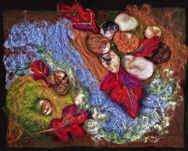 Art: Footfalls of the Scarlet Sentry by Artist Alma Lee