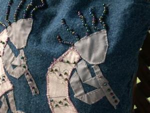 Detail Image for art Southwestern Kokopelli Tote