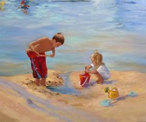 Detail Image for art Balboa Beach Summer