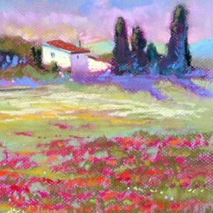 Detail Image for art Provence Poppy Fields