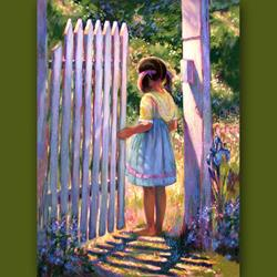 Art: Gate Of Hope by Artist Patricia  Lee Christensen