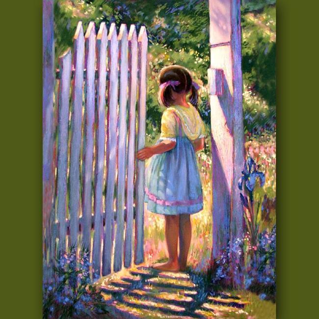 Art: Gate Of Hope by Artist Patricia  Lee Christensen
