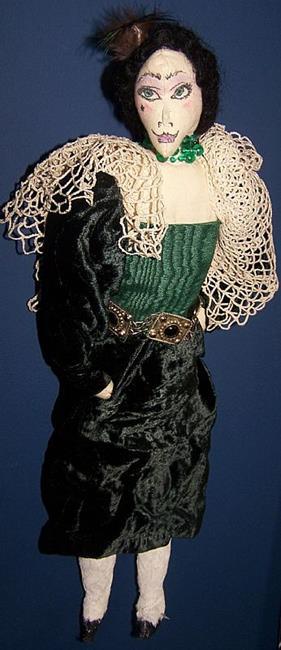 Art: Velvet McRory by Artist Nancy Denommee