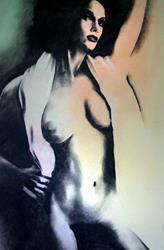 Art: Female Nude  10-99 by Artist David Mott