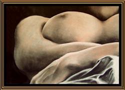 Art: Naked Landscape #6 by Artist David Mott