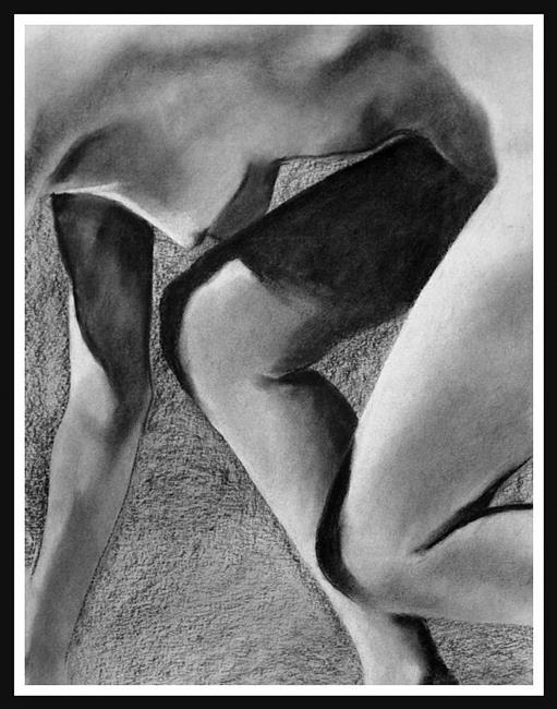 Art: Nude Runner by Artist David Mott