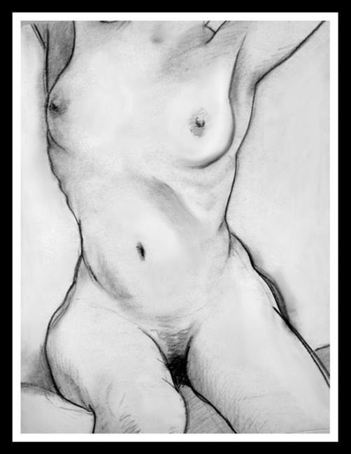 Art: Figure Study 24 by Artist David Mott