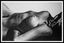 Art: Naked Landscape #3 by Artist David Mott